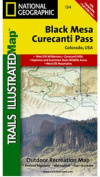 National Geographic TI00000134 Map Of Black Mesa-Curecanti Pass - Colorado