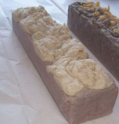 Petunia Farms German Chocolate Handmade German Chocolate Cake 1.8kg Soap Loaf