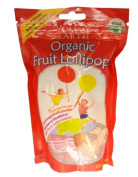 Yummy Earth 0850776 Organic Fruit Lollipops 15 Lollipops 90ml - 85 g - Case of 6 - 90ml
