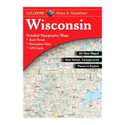 Delorme 240049 Wisconsin Atlas and Gazetteer