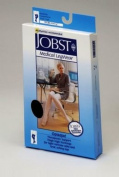 Jobst 115504 Opaque Thigh High 15-20 mmHg Moderate Support Hose - Size & Color- Classic Black Small