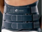 M-Brace 572-2XL Lumblock Lumbar Sacral Brace - Size 2X-Large