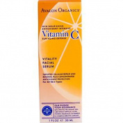Avalon Organics Vitamin C Skin Care Vitamin C Vitality Facial Serum 30ml 213814