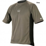 Ergodyne 150-40117 All Season Relaxed Fit Ss Grey Size 3Xl