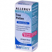 bioAllers Allergy Treatments Tree Pollen 1 fl. oz. with dropper 207785