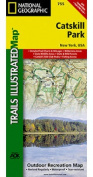National Geographic Maps TI00000755 Catskill Park Map