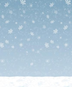 Beistle - 20201 - Winter Sky Backdrop - Pack of 6