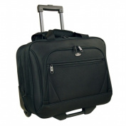 Luggage America RT-800-BK Olympia Deluxe Business Rolling Tote