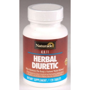Naturade 0581801 KB 11 Herbal Diuretic - 120 Tablets