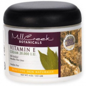 Mill Creek 0352096 Botanicals Vitamin E Cream - 20000 IU - 4 oz