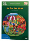 Leap Frog 90588 Tag InterACTIVE Decodable Level 6 Book At the Art Mart