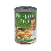 Wolfgang Puck 21308 Organic Chicken Soup With Egg Noodle