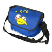 Blancho Bedding MB-AG-BLUE Angry Birds - Blue Multi-Purposes Messenger Bag / Shoulder Bag