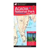 Map Adventures 103078 Acadia National Park Waterproof Map