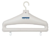 Travelon 12124-80 Set Of 2 Inflatable Hangers - White Plastic