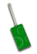Lewis N Clark 7470GRN Belle Hop Plastic Neon Luggage Tag - Neon Green