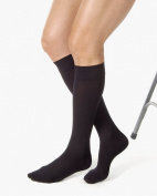 Relief 15-20 mmHg Closed Toe Knee High Unisex Support Sock Size