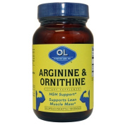 OLYMPIAN LABS, Arginine 500mg & Ornithine 250mg - 100 caps