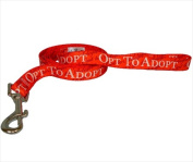 Yellow Dog Design OPT104LD 3/8 in. x 60 in. Opt to Adopt Lead