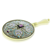 Alexander Kalifano SVA-010 Regal Vanity Mirror with Swarovski Elements - Amethyst