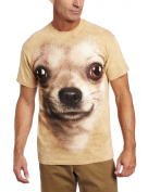 Mountain Corp 1033320 Chihuahua Face Small T-Shirt
