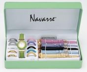BNF JELWAT Navarre Ladies Watch with Interchangeable Bands and Faces