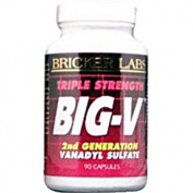 Bricker Labs 0406793 Big-V Triple Strength - 90 Capsules