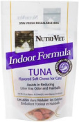 Nutri Vet 32908-5 Indoor Formula Soft Chew For Cats - Tuna Flavored - 2.5 oz