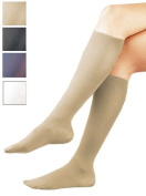 Activa H2613 Sheer Therapy Ribbed Womens Trouser Socks 15-20 mmHg - Size & Colour- White Large