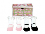 Dimples 649241849261 Tea Party Two Pairs Mary Jane Socks