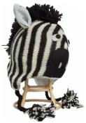Nirvanna Designs CHZebra Zebra Hat Hand Knited Cold Weather