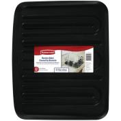Rubbermaid Antimicrobial Drain Board, Large, Black