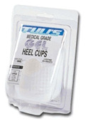Pedifix P85L Tulis Gel Heel Cups - Size- Large -body weight over 175 lbs.