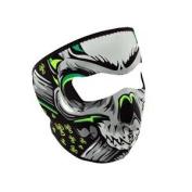 ZANheadgear Neoprene Lethal Threat Biohazard Skull Face Mask