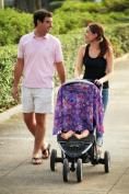 Reno Rose PRTEJL/XL Taeja Large/X-Large Pirose Motherhood Nursing Cover - Purple Paisley