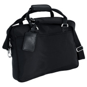 Ballistic Nylon Portfolio Bag w Shoulder Strap