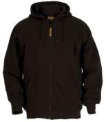 Berne Apparel SZ101BKR600 4X-Large Regular Original Hooded Sweatshirt Thermal Lined - Black