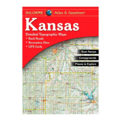 Delorme 240016 Kansas Atlas and Gazetteer