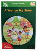 Leap Frog 90586 Tag InterACTIVE Decodable Level 5 Book A Year on My Street