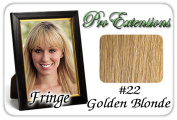 Brybelly Holdings PRFR-22 No. 22 Golden Blonde Pro Fringe Clip In Bangs
