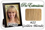 Brybelly Holdings PRFR-22 No. 22 Golden Blonde Pro Fringe Clip In Bangs