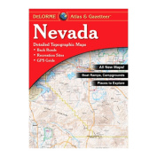 Delorme 240028 Nevada Atlas and Gazetteer