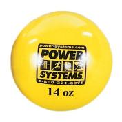 Power Systems 26014 Power Throw-Ball Baseball Medicine Ball - Yellow