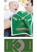 Teamees bbbc Home Run Baseball Burp Cloth