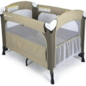 Foundations 1554117 Elite Portable Crib Mattress - Sage