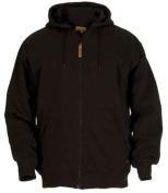 Berne Apparel SZ101BKR440 Large Regular Original Hooded Sweatshirt Thermal Lined - Black