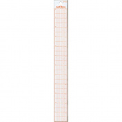 Judikins 460926 Steel Edge Ruler Hi Vis 1-Pkg-30cm . Standard