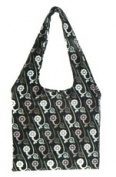 Bangalla Bags BG-1daisy Bangalla Bags Black Daisys Everyday Bag