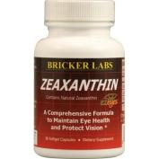 Zeaxanthin 30 SoftGels by Bricker Labs / 30 SoftGels