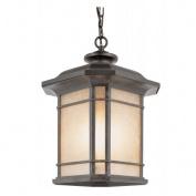 Trans Globe Lighting 5825 RT 1 Light Hanging Lantern - RUST